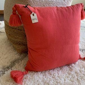 Hearth & Hand tassel decorative pillow